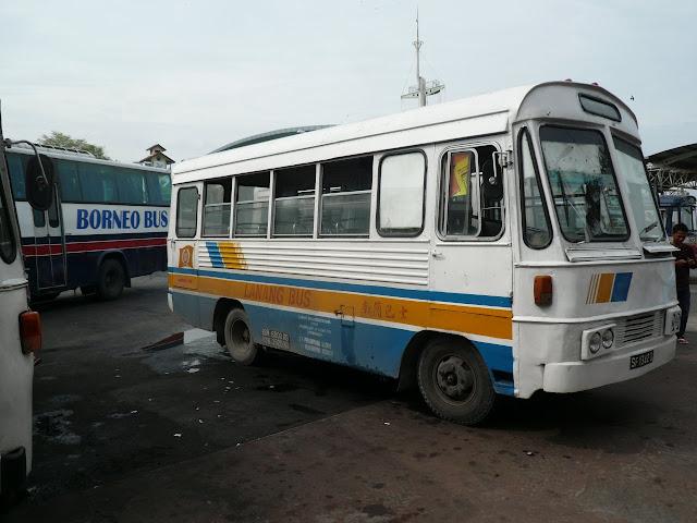 Lanang Bus, Sibu Malaysia