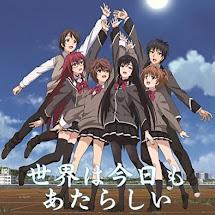 Shoujotachi wa Kouya o Mezasu ED Single – Sekai wa Kyou mo Atarashii