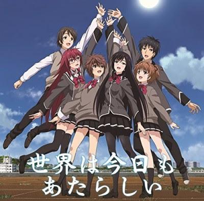 Shoujotachi wa Kouya o Mezasu ED Single - Sekai wa Kyou mo Atarashii