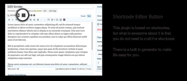 DZS Scroller - WordPress Scrollbar Plugin - 3