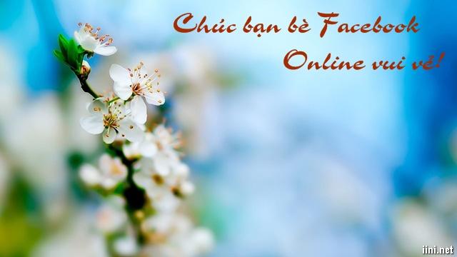 thơ chúc bạn bè facebook ngày mới online vui vẻ