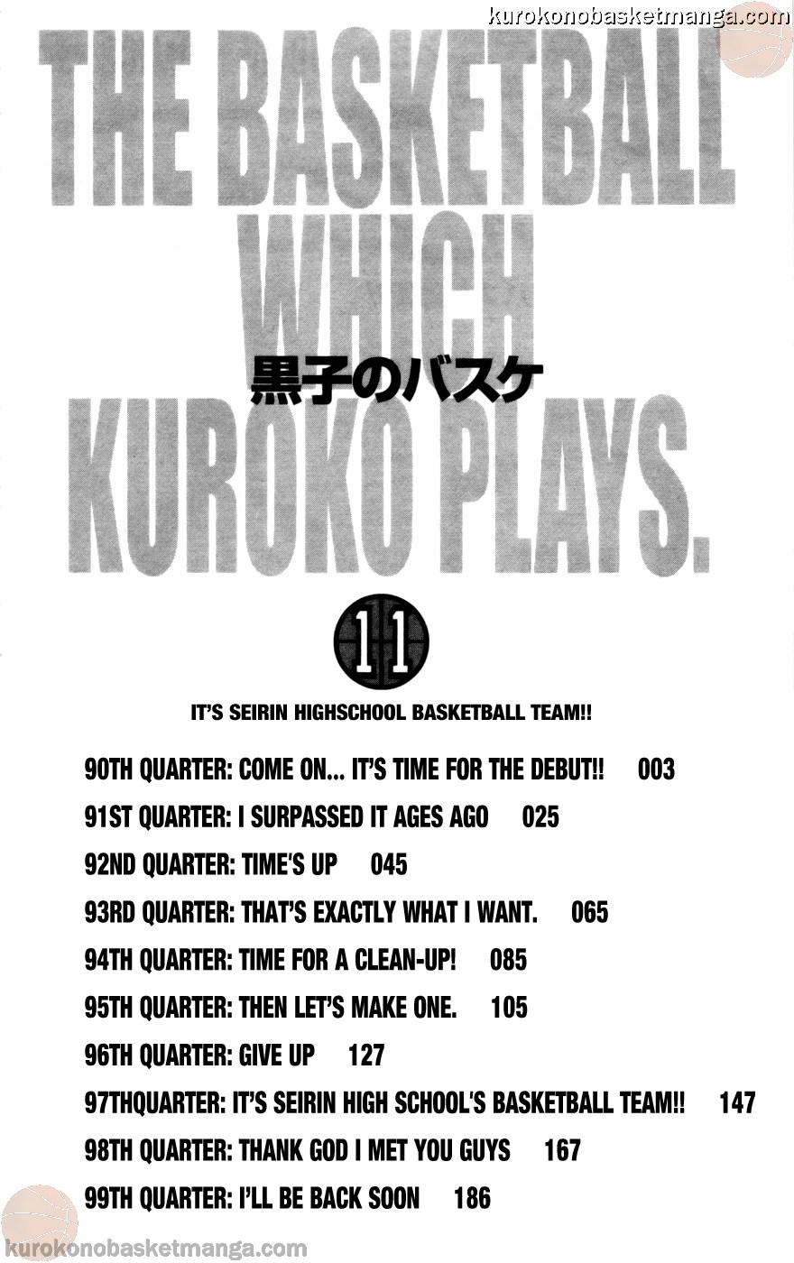 Kuroko no Basket Manga Chapter 90 - Image 02