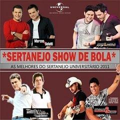 Download Sertanejo Show de Bola As Melhores do Sertanejo Universitário 2011