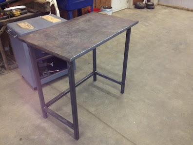 Welding table question - Plan fabrication table ...