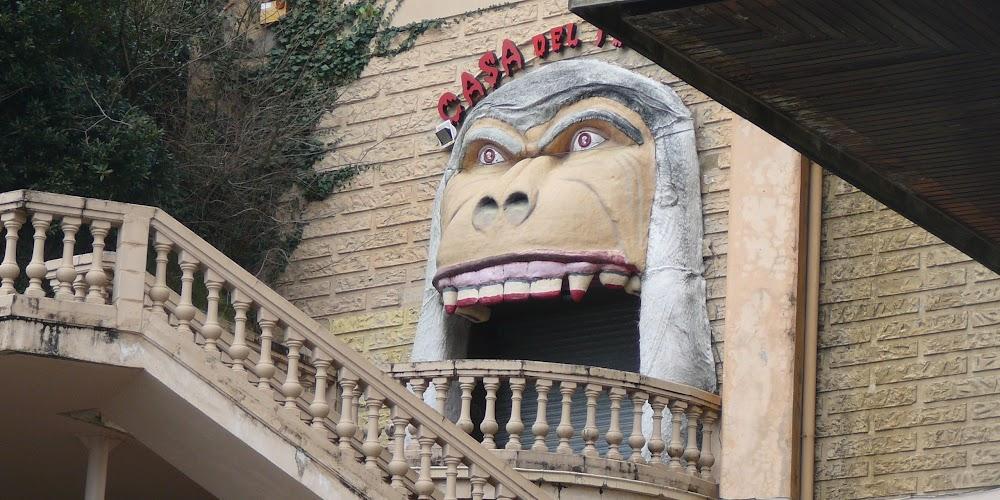 Casa del <s>Mono</s> Terror, Monte Igueldo, San Sebastián.