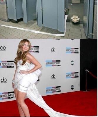 Miley Cyrus Dress FAIL