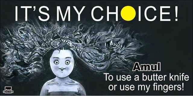 Funny My Choice meme and Trolls... Deepika Padukone funny meme.. Amul : my choice to use butter knife or my fingers