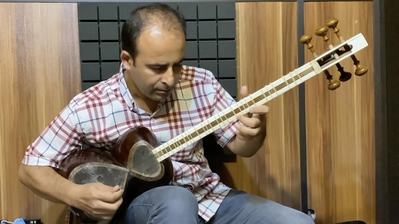 مبارکباد شیرازی همایون کتاب دوم آموزش جلال ذوالفنون نیما فریدونی تار