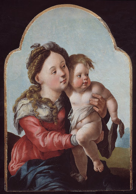Jan van Scorel - Madonna and Child - Google Art Project