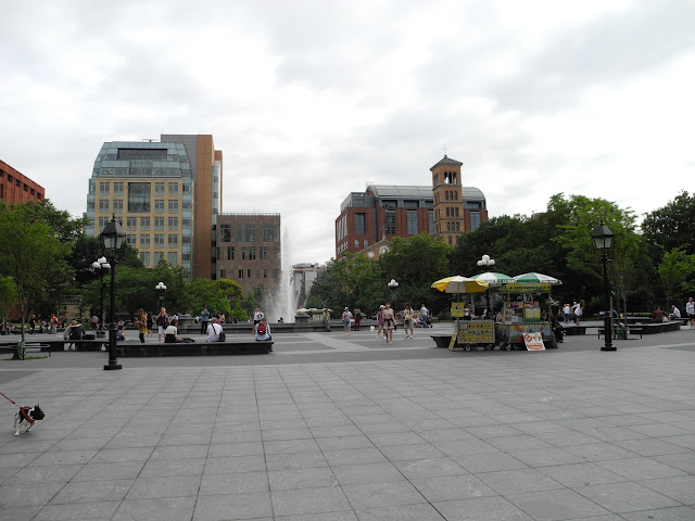 Washington Square and the NYU Spiritual Life Center