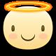 Angel Facebook sticker