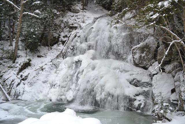 Водопад Мосс Глен Фаллс, Вермонт (Moss Glen Falls, VT)