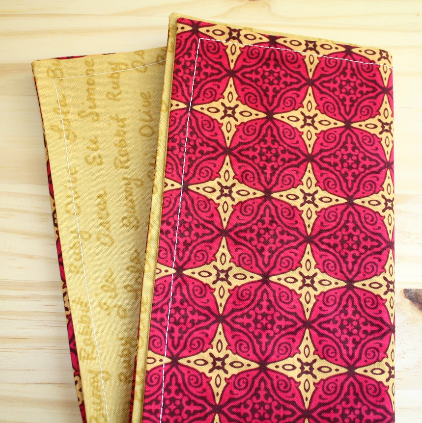 handmade reversible cloth napkins