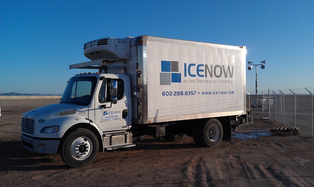 Bag Ice Block Ice Delivery Arizona Construction