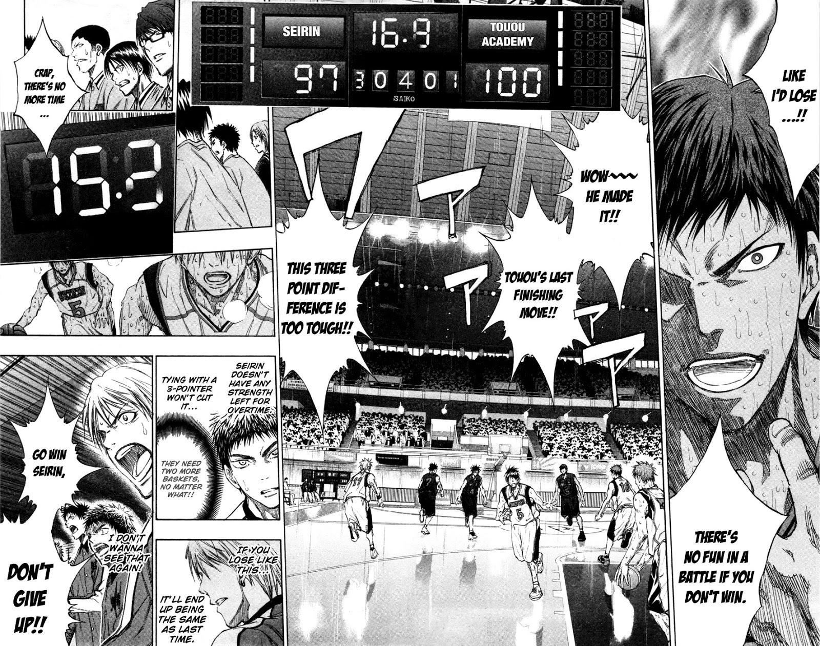 Kuroko no Basket Manga Chapter 137 - Image 10-11