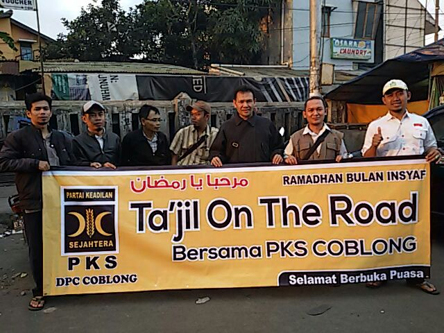 Panitia Tajil on The Road Dipati Ukur