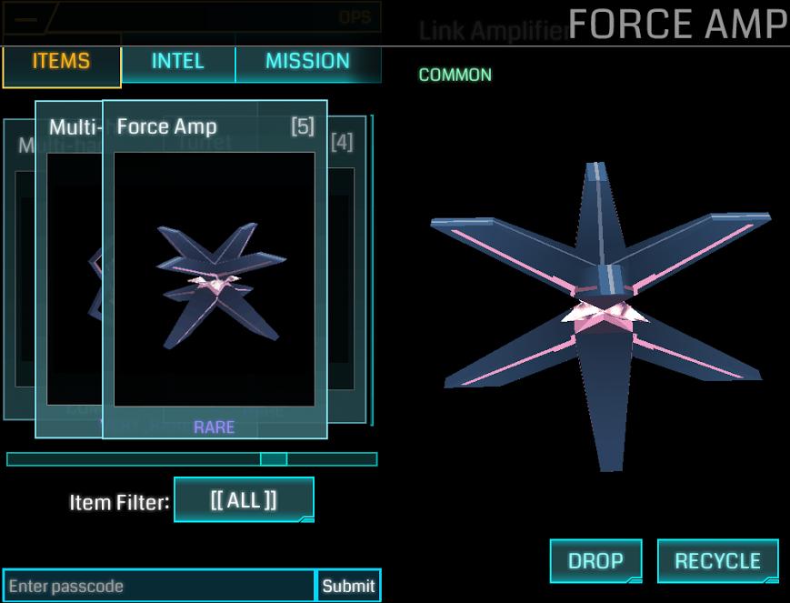 Force Amplifier Ingress Mod