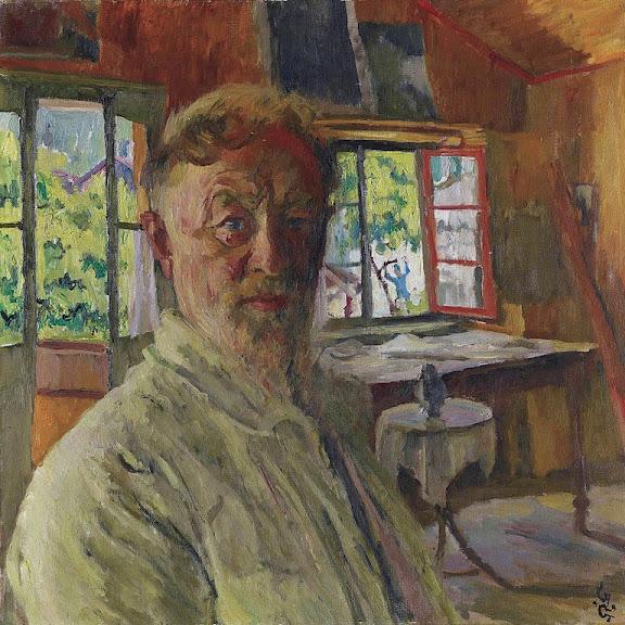 Giovanni Giacometti - Self portrait