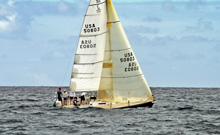 J/105 LOKI from Miami sailing Lauderdale Key West race