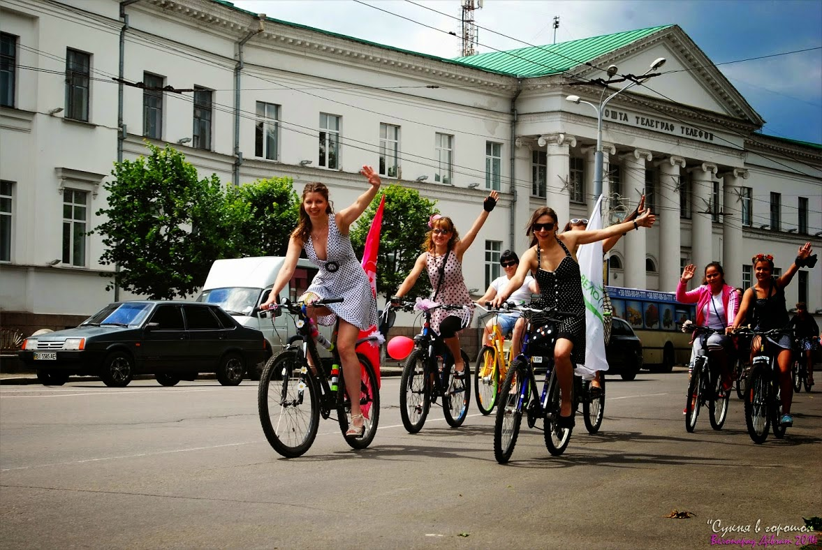 Велосипедная экскурсия Полтава