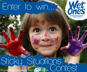 Win an iPad Mini or Six Flags tickets from Wet Ones