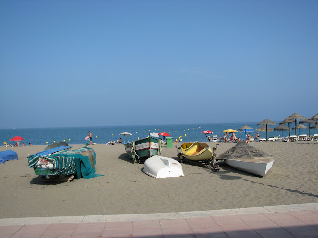 Beach at Torremolinos, Costa del Sol in Andalucia