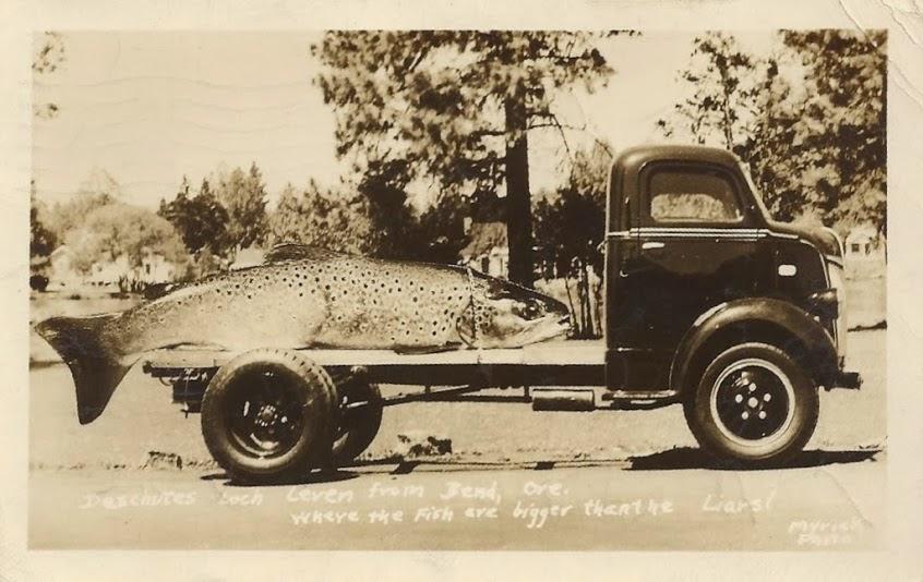 Peixes gigantes eram comuns em cartões tall tales