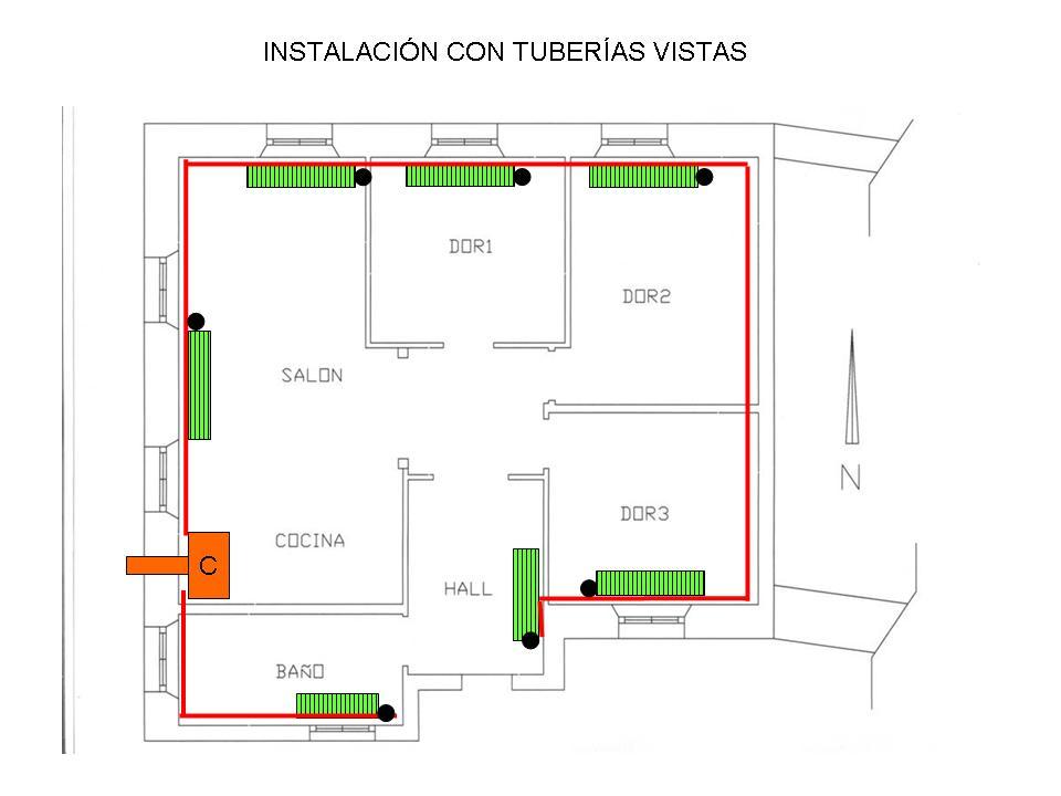 Curso inem 2913 instaladores clase d a 9 de marzo de 2011 - Instalacion calefaccion radiadores ...