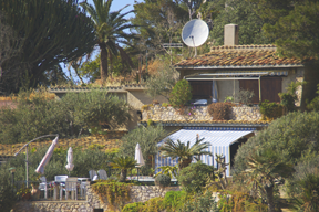 Sizilien - Ferienhäuser der Sprachschule Solemar Sicilia im sizilianischen Landhausstil in Mongerbino.