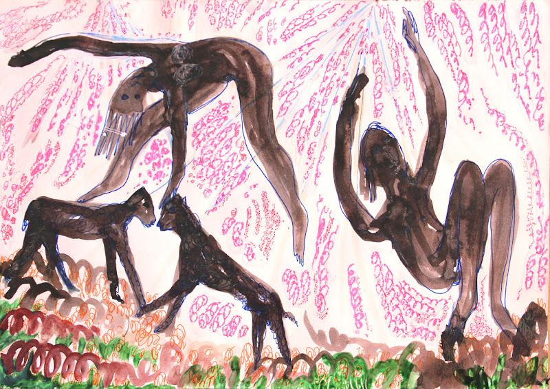 dance of the earth and sky xi ~ frank waaldijk