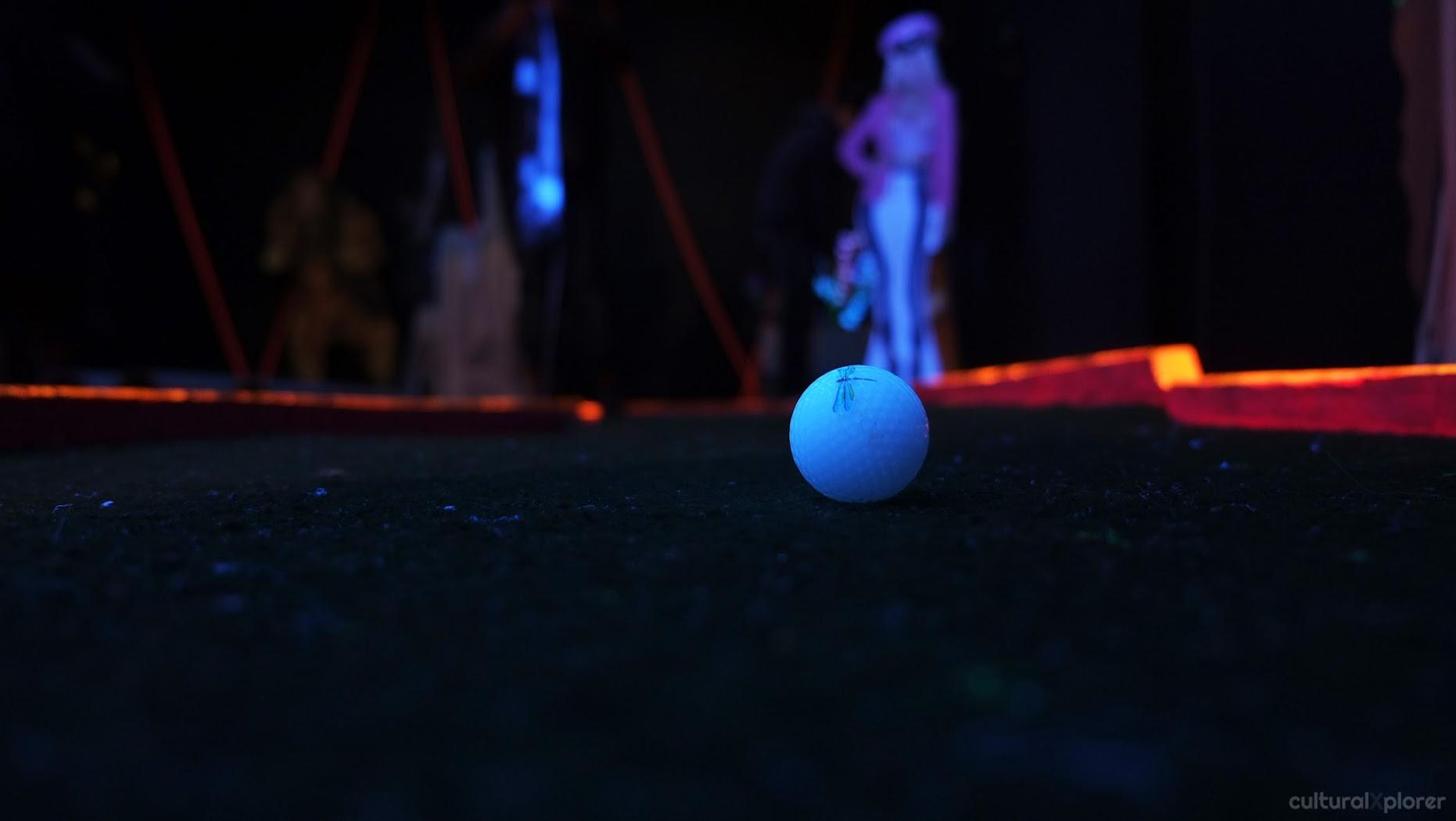 Brooklyn Night Bazaar miniature golf