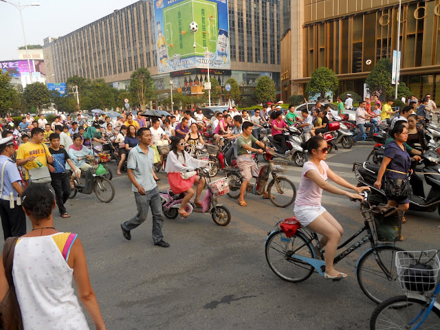 And you thought the traffic in Guilin was bad!