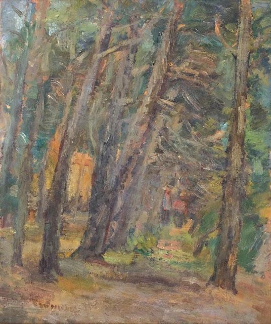 Lucian Grigorescu - Pădurea de fagi