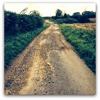 Stony lane