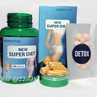 Sản phẩm giảm béo New Super Diet có tốt không