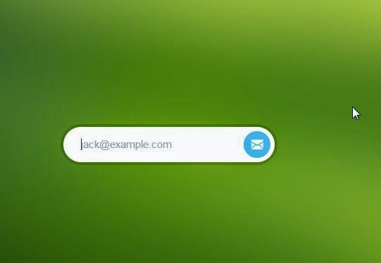 circular HTML form