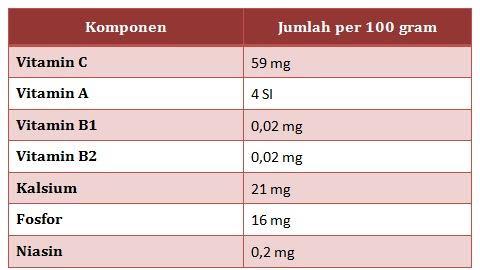 vitamin buah stroberi