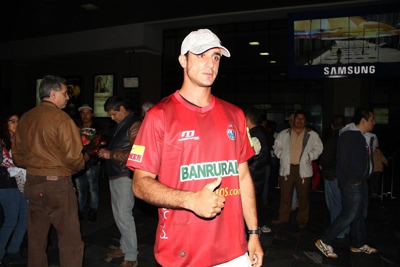 Andrés Férnandez llega a Guatemala