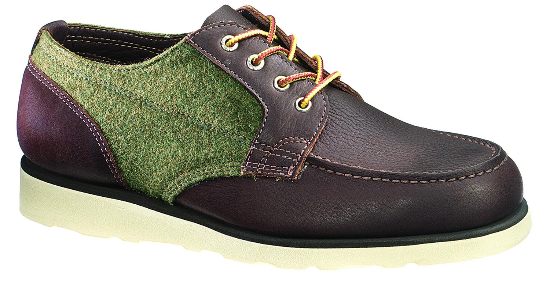 *SEBAGOxWoolrich®:Stockton 皮革百年羊毛混搭紳士鞋履! 1