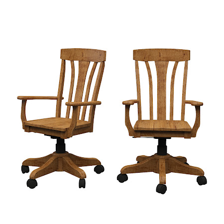 Alsace Office Chair in Como Maple