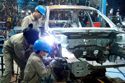 Đơn hàng hàn, sơn xe tải cần 6 nam thực tập sinh làm việc tại Aichi Nhật Bản tháng 04/2017