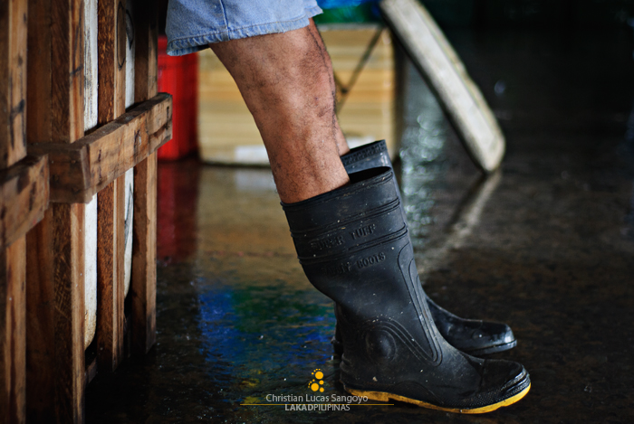 Boots On at the Navotas Fish Port