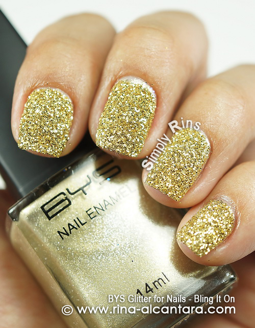 BYS Glitter for Nails - Bling It On
