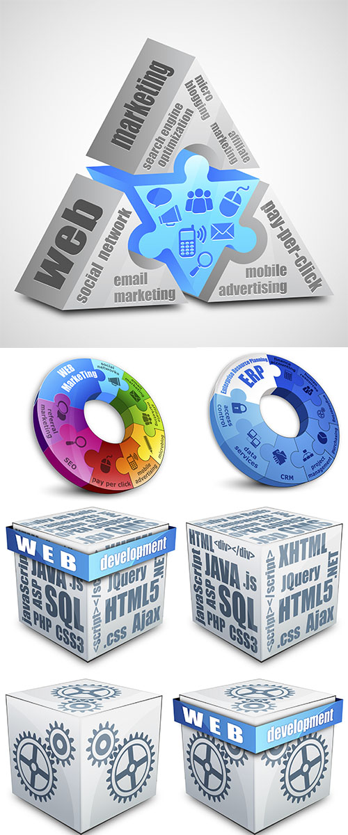 Stock:  Web marketing