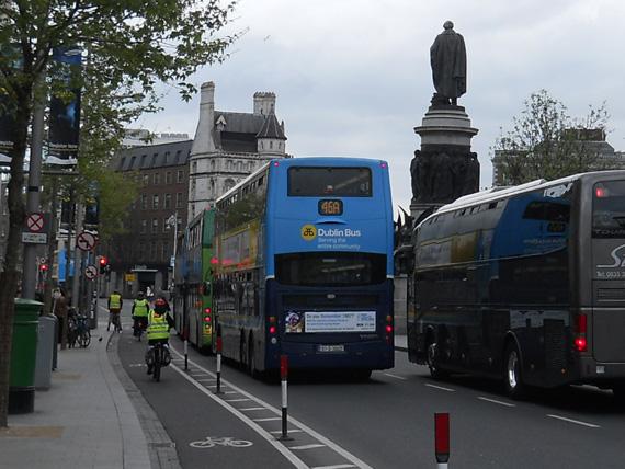 En Bici por Dublín: Observaciones de un Turista