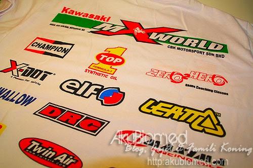 kawasaki mx world t-shirt