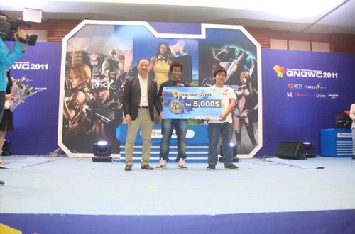 Phi Đội Việt Nam đăng quang vô địch GNGWC 2011 5
