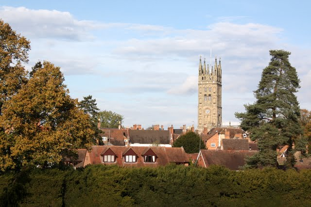 Warwick Church in England