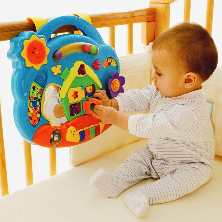 đồ chơi phù hợp cho trẻ từ 6 - 9 tháng tuổi