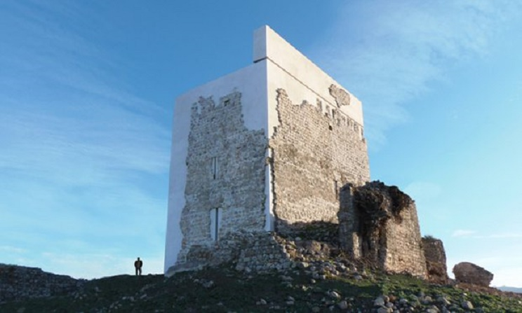 Southern Europe: Restoration of 9th century Spanish castle mocked